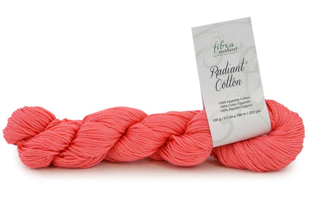Radiant Cotton Yarn Fibra Natura