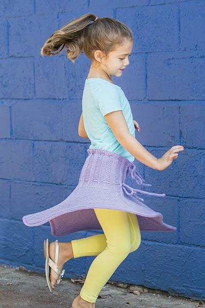 Pixie Skirt Pattern Universal Yarn