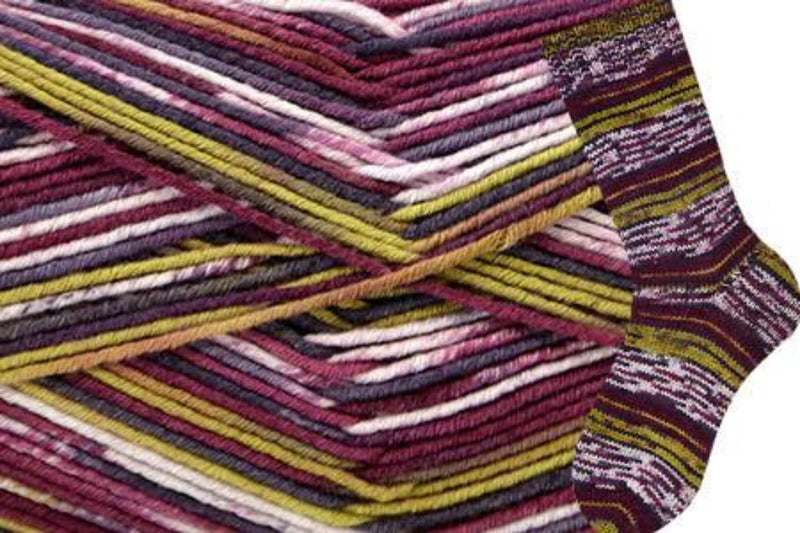 Allegro Yarn Wisdom Yarns 804 Grape Sonata