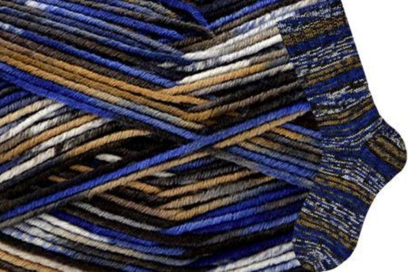 Allegro Yarn Wisdom Yarns 805 Blue Fugue