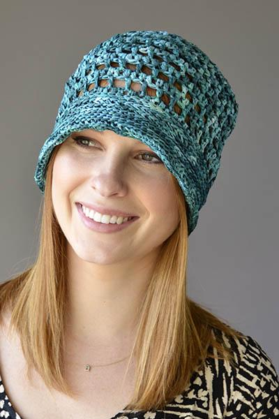 Ocean Breeze Cap Pattern Universal Yarn