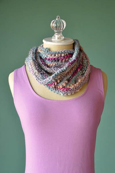 Interrupted Cowl Pattern Universal Yarn
