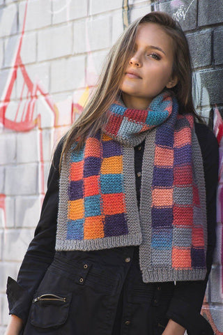 Differential Scarf and Legwarmers