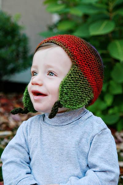 Little Boy's Bomber Cap Pattern Universal Yarn