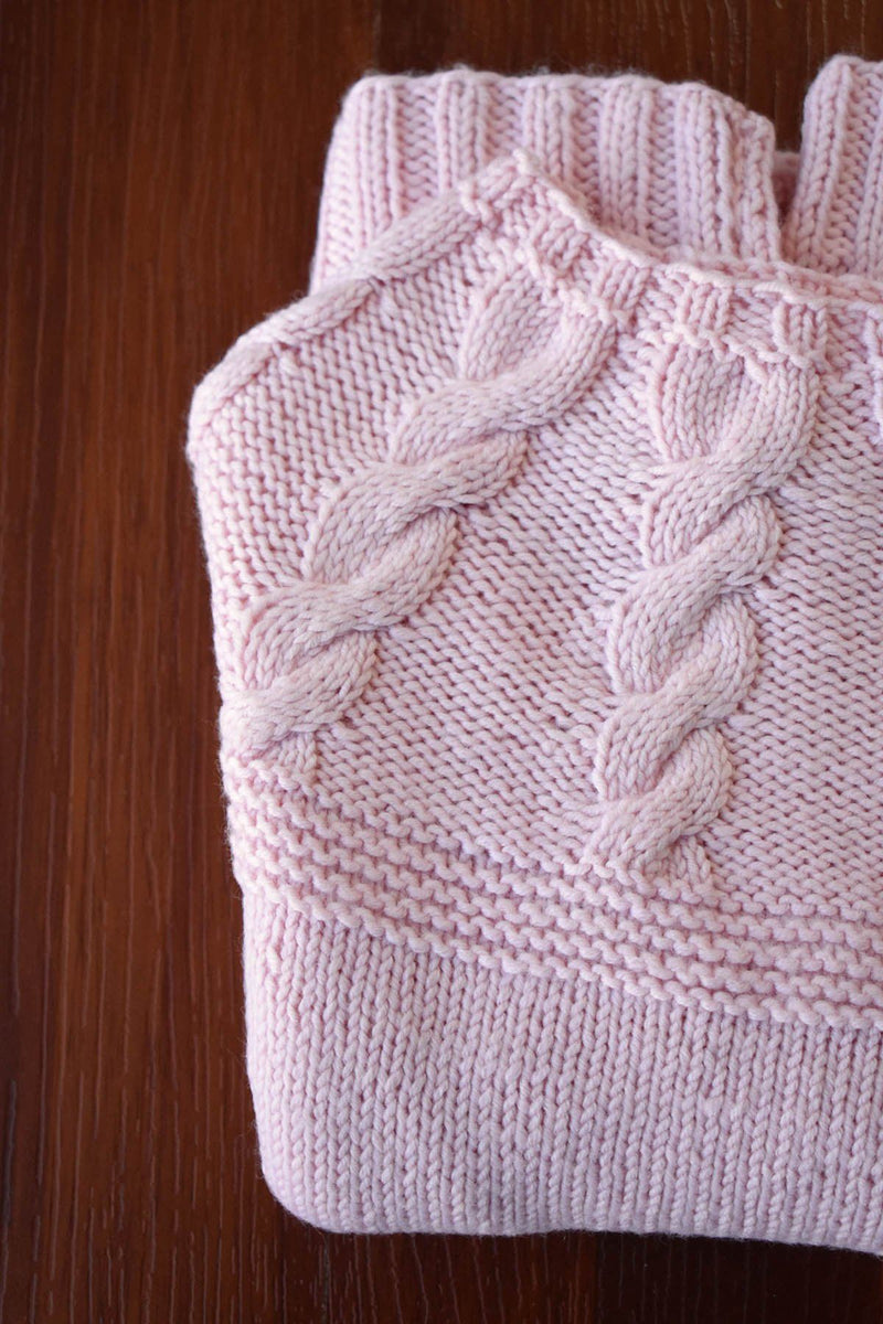 Paper Doll Sweater Pattern Fibra Natura
