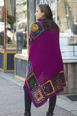 Afghan Knitalong Square 21 - Seaming
