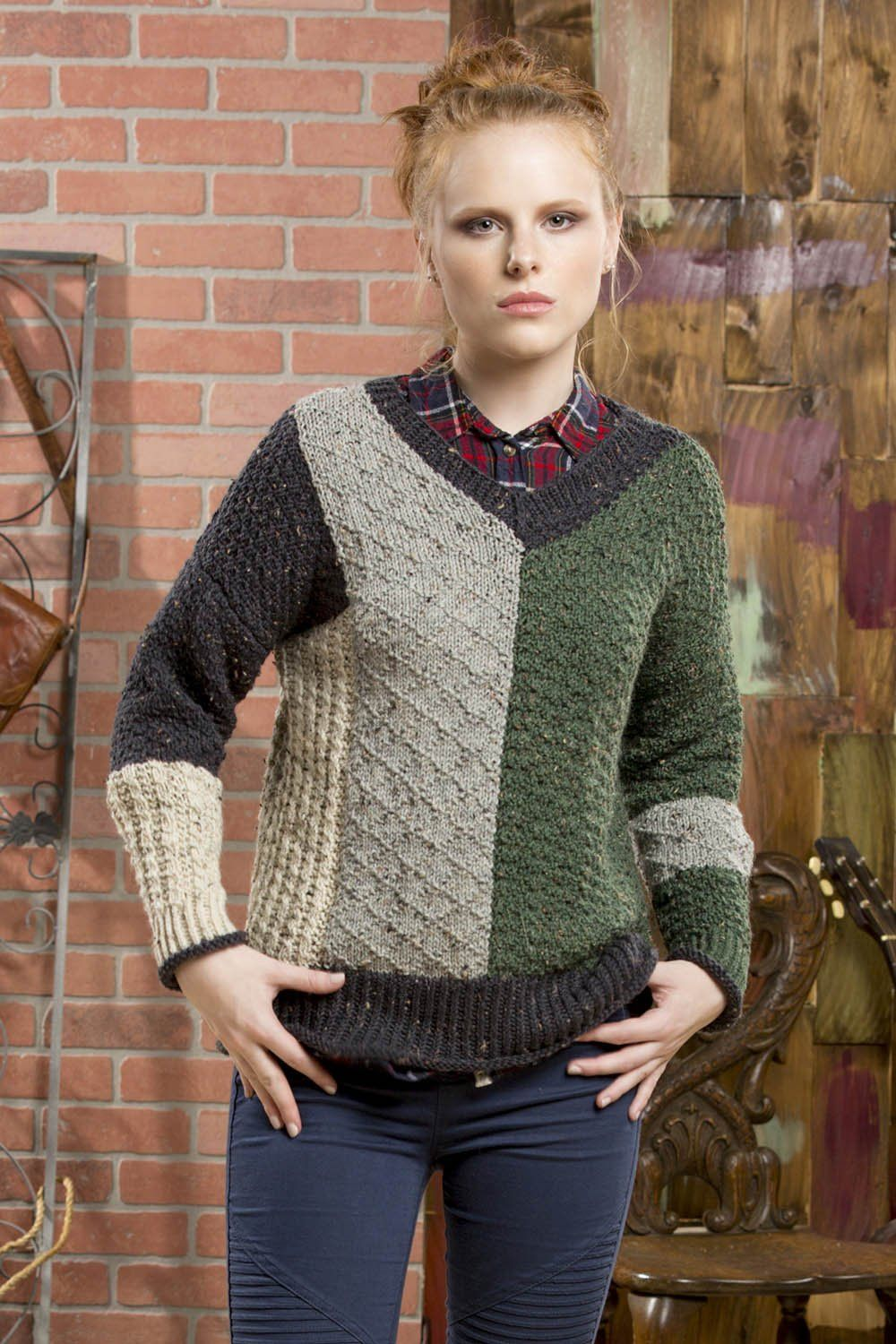 Ainsley Pattern Universal Yarn