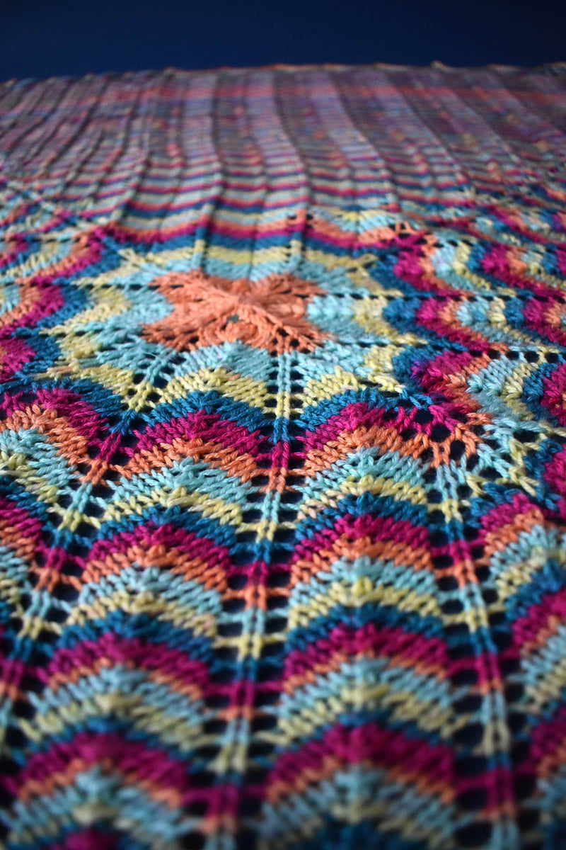 Magical Mystery Throw Pattern Universal Yarn