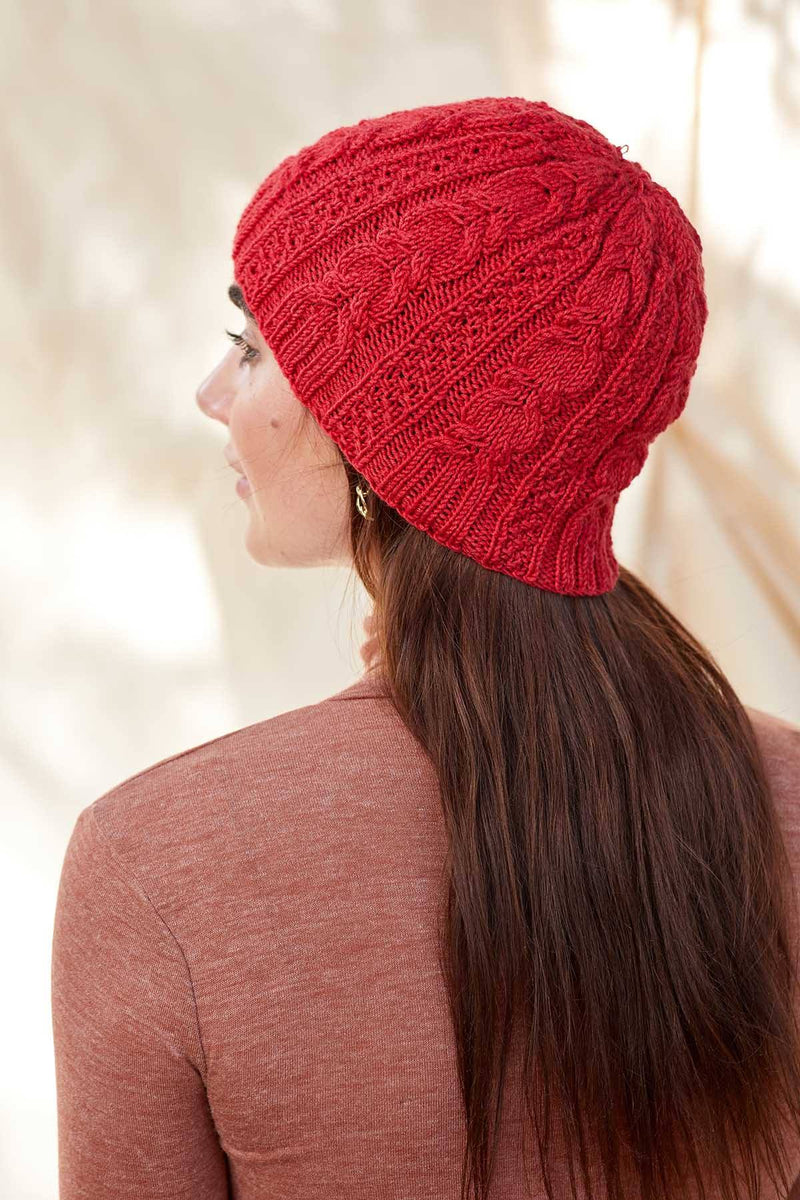Amaranth Hat Pattern Universal Yarn