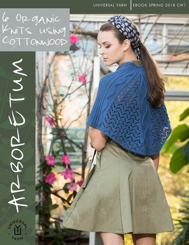 Garden Metallic Lacy Knits