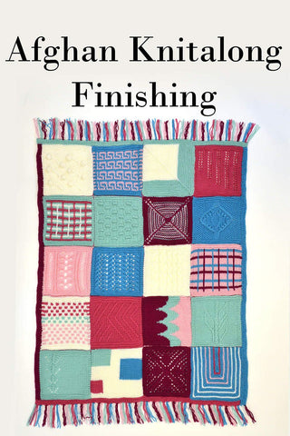 Afghan Knitalong Square 1 - Cubed