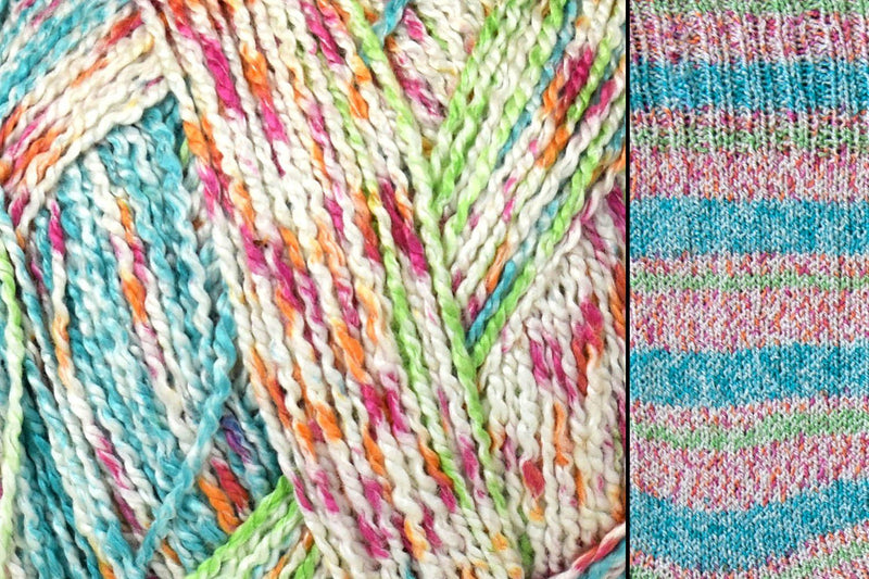 Bamboo Pop Sock Yarn Universal Yarn 404 Wildflowers