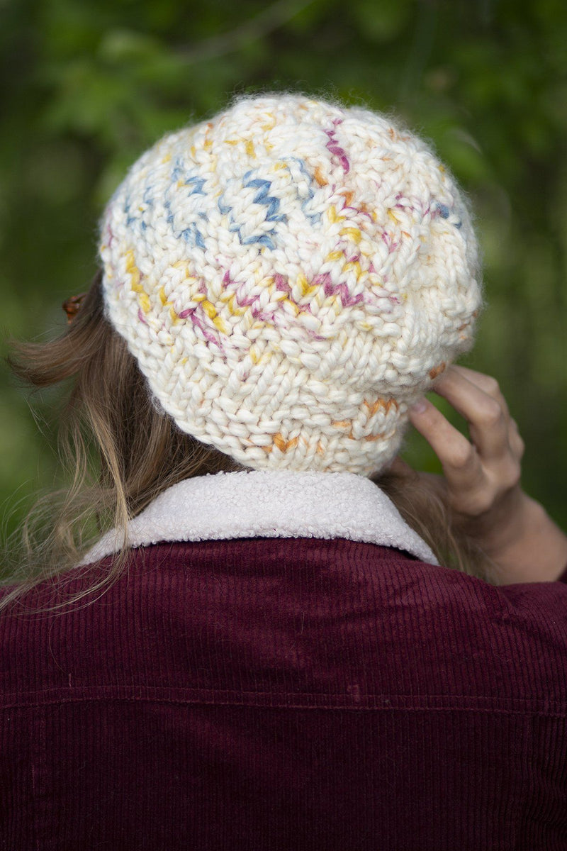 Basketweave Hat Pattern Universal Yarn