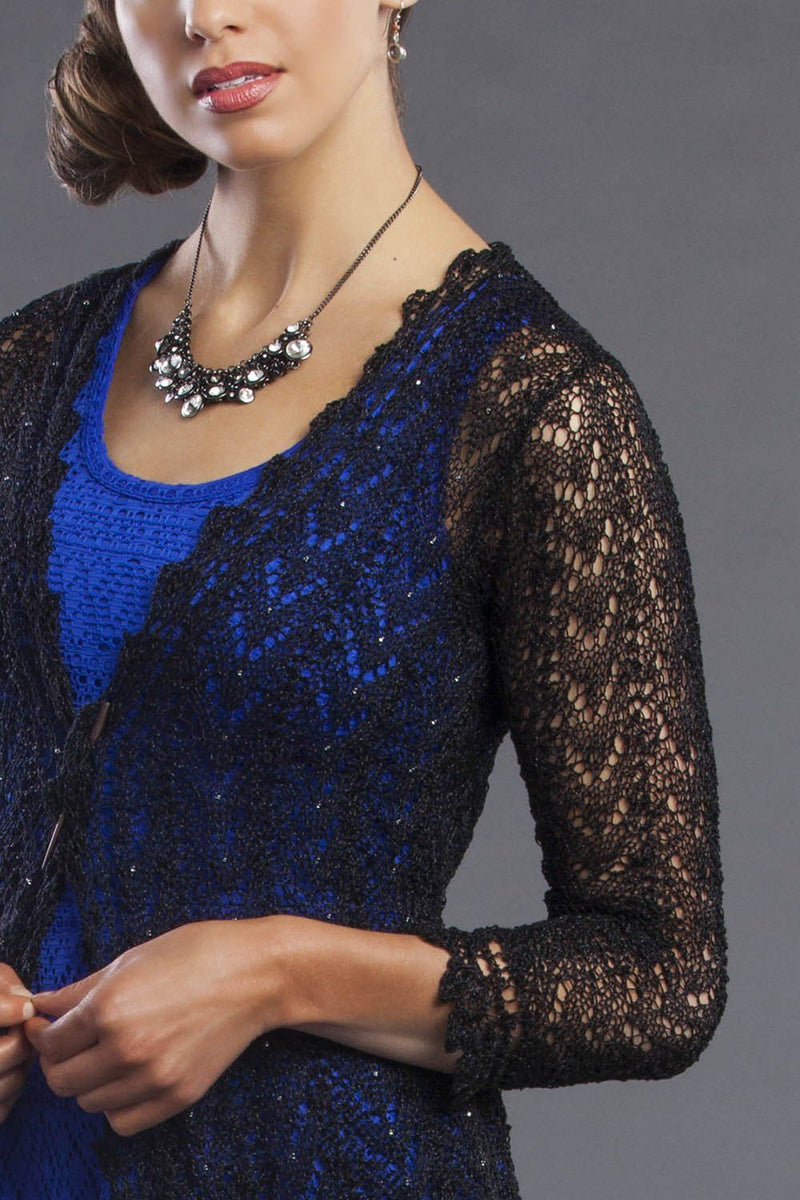 Beaded Lace Cardigan Pattern Nazli Gelin