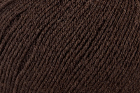 Bella Cash Yarn Universal Yarn 107 Coffee
