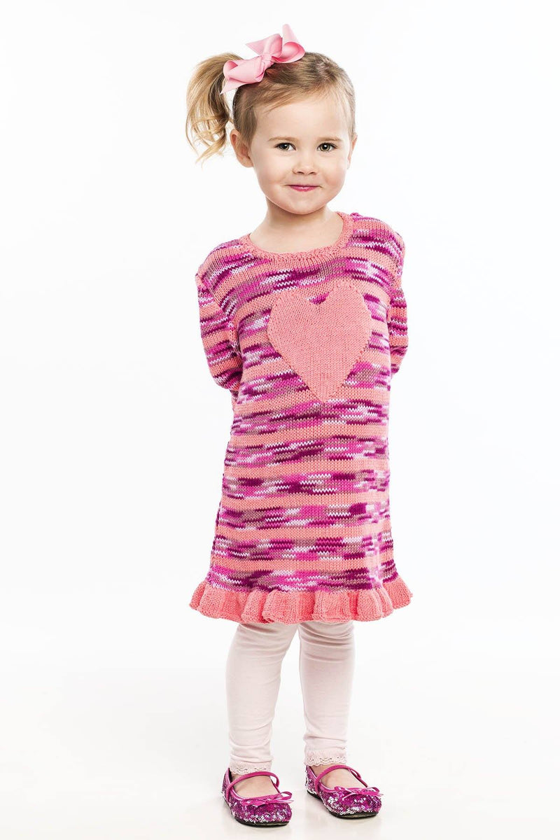 Big Heart Dress Pattern Universal Yarn