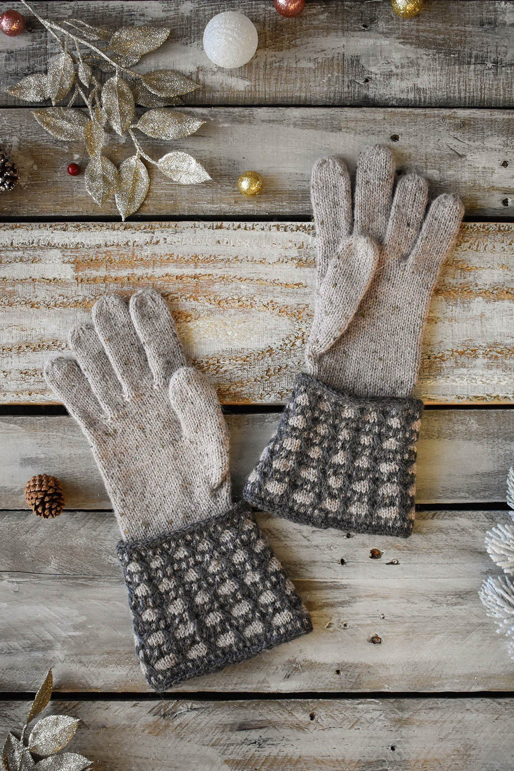 Birch Gloves Pattern Fibra Natura