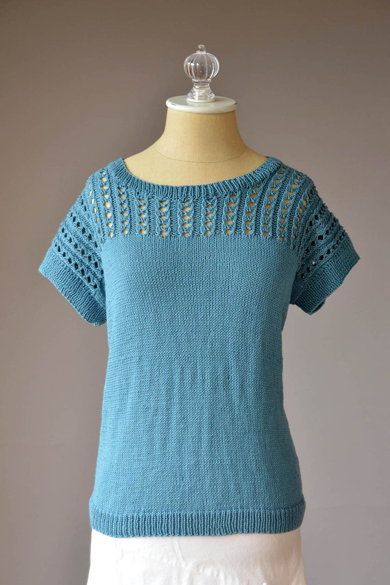 Blissful Tee Pattern Fibra Natura