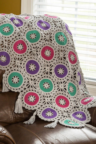 Chrysanthemum Throw
