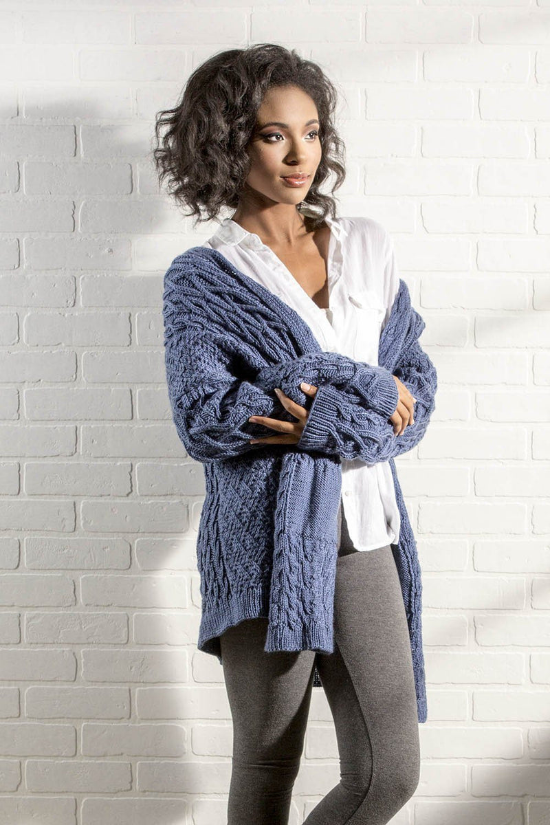 Brook Cardigan Pattern Universal Yarn