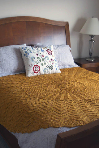 Afghan Knitalong Square 16 - Miter Mayhem