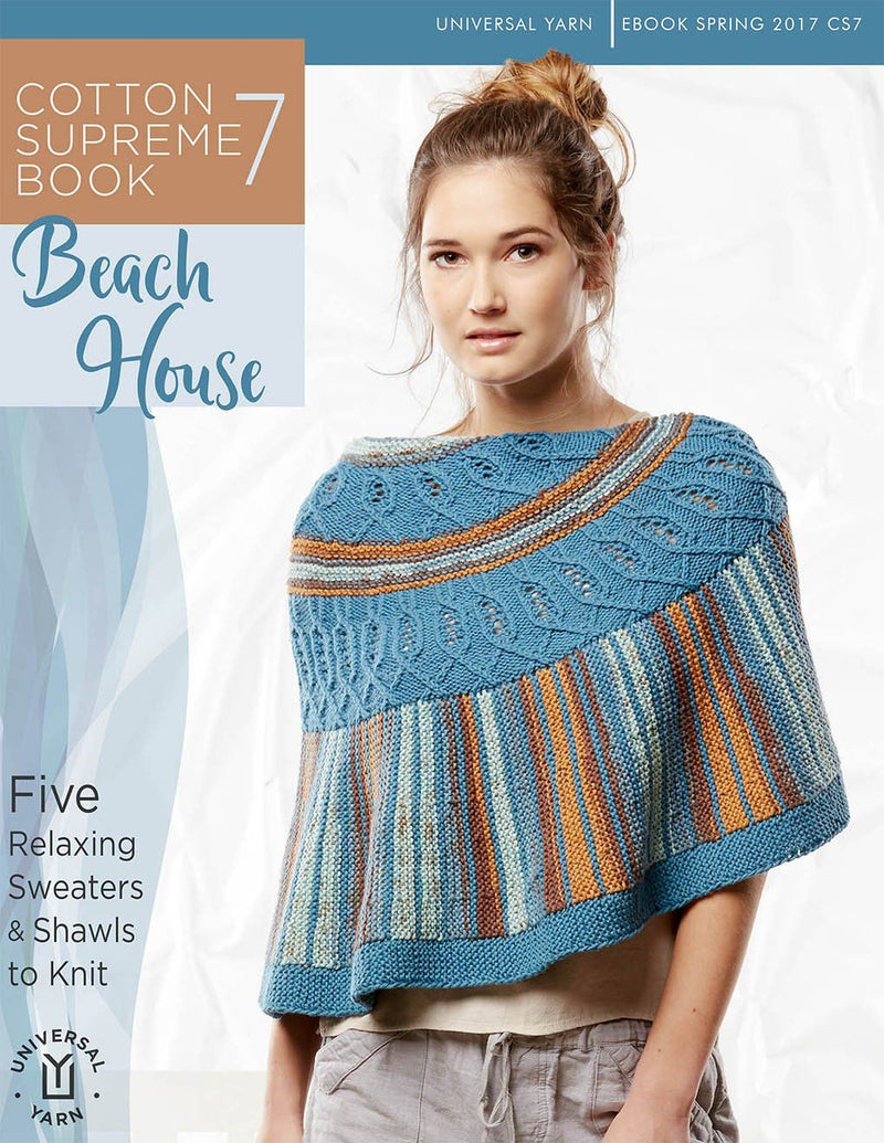 Cotton Supreme Book 7: Beach House Pattern Universal Yarn