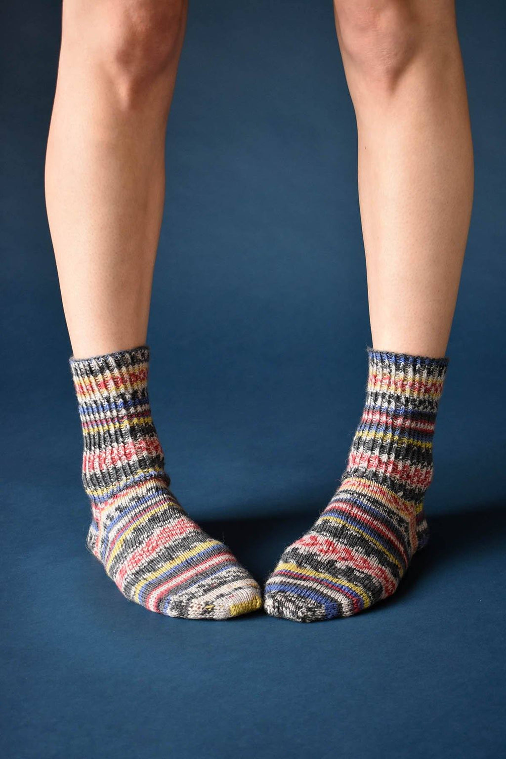 Channel Socks Pattern Wisdom Yarns