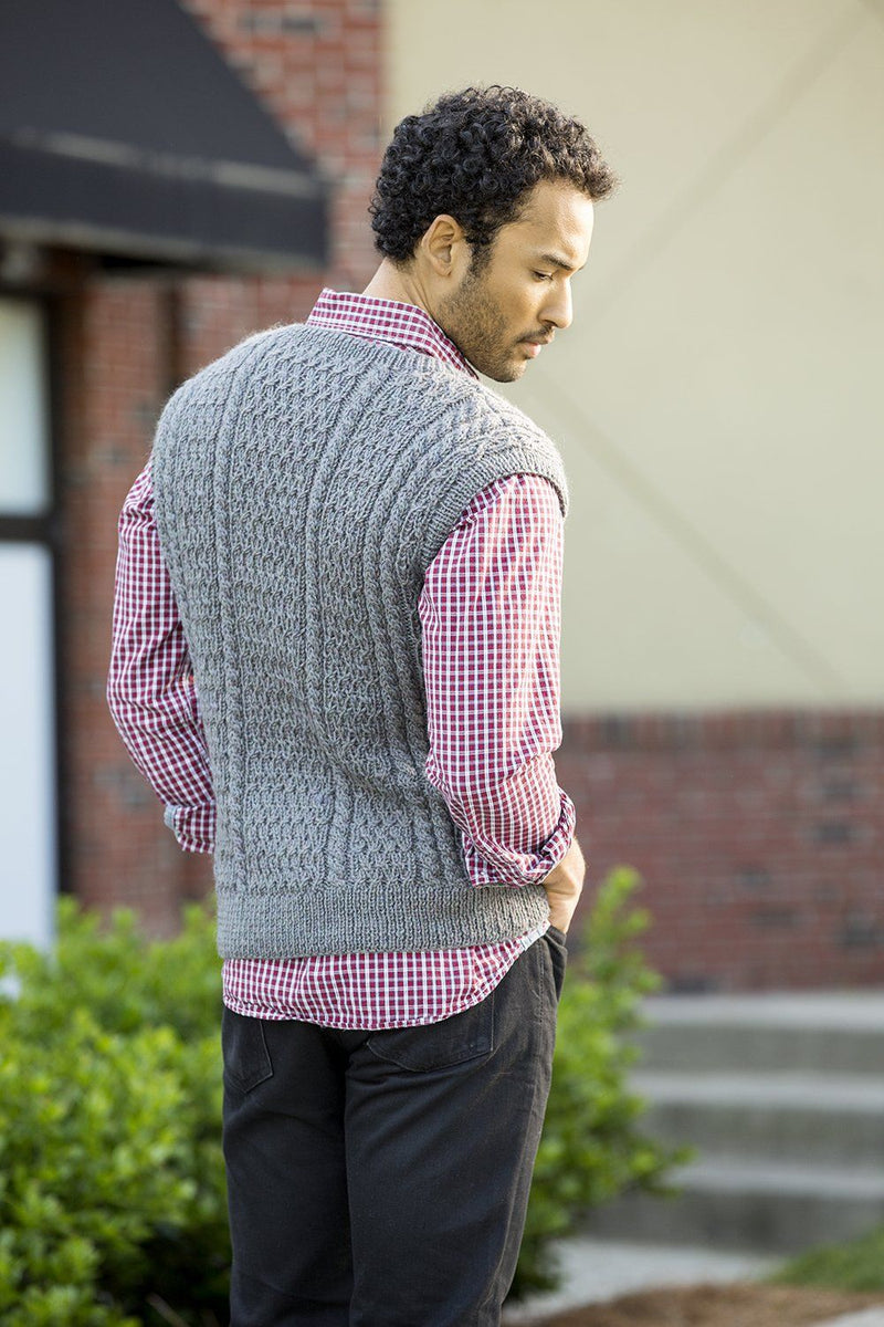Chapel Hill Vest Pattern Universal Yarn