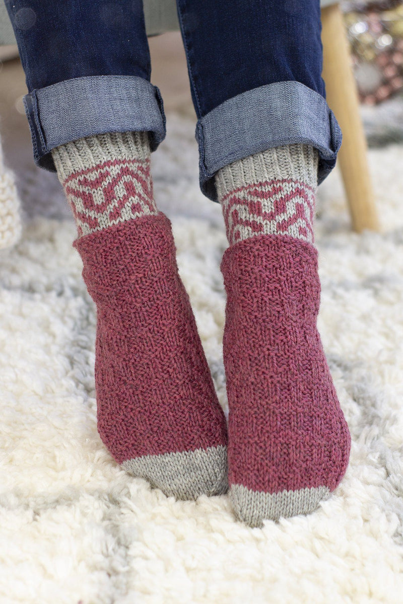 Chimney Socks Pattern Universal Yarn