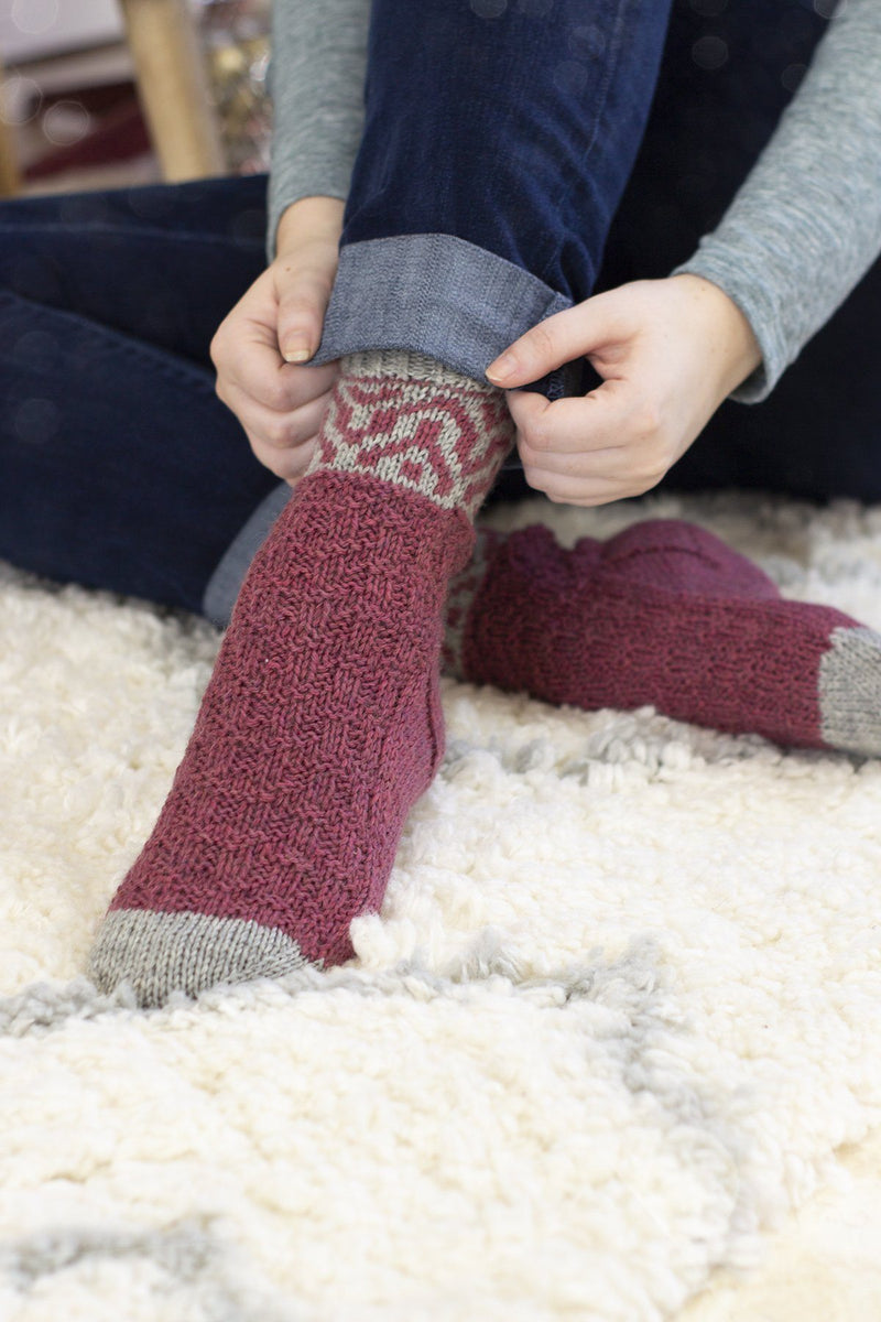 Save 12 Days - Chimney Socks Kit Universal Yarn Day 5 Chimney Socks