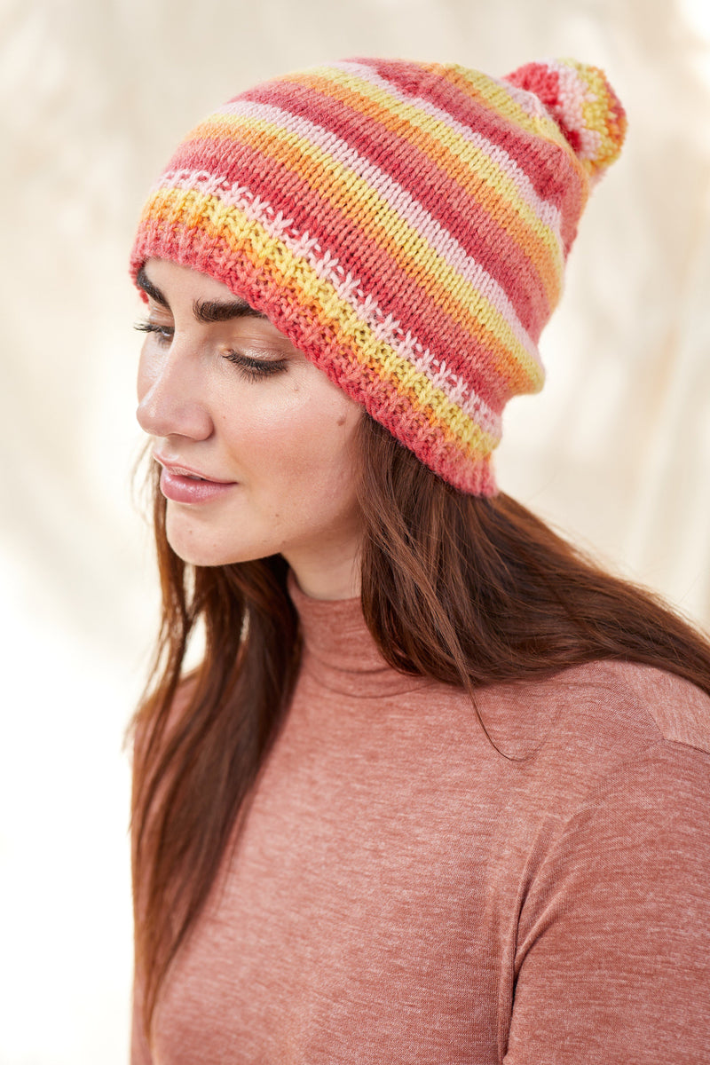 Citrus Hat Pattern Universal Yarn