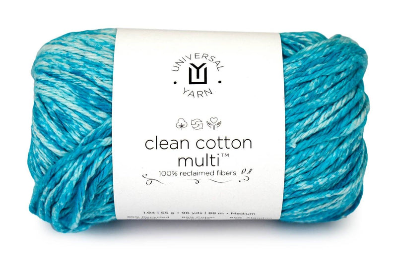 Clean Cotton Multi Yarn Universal Yarn