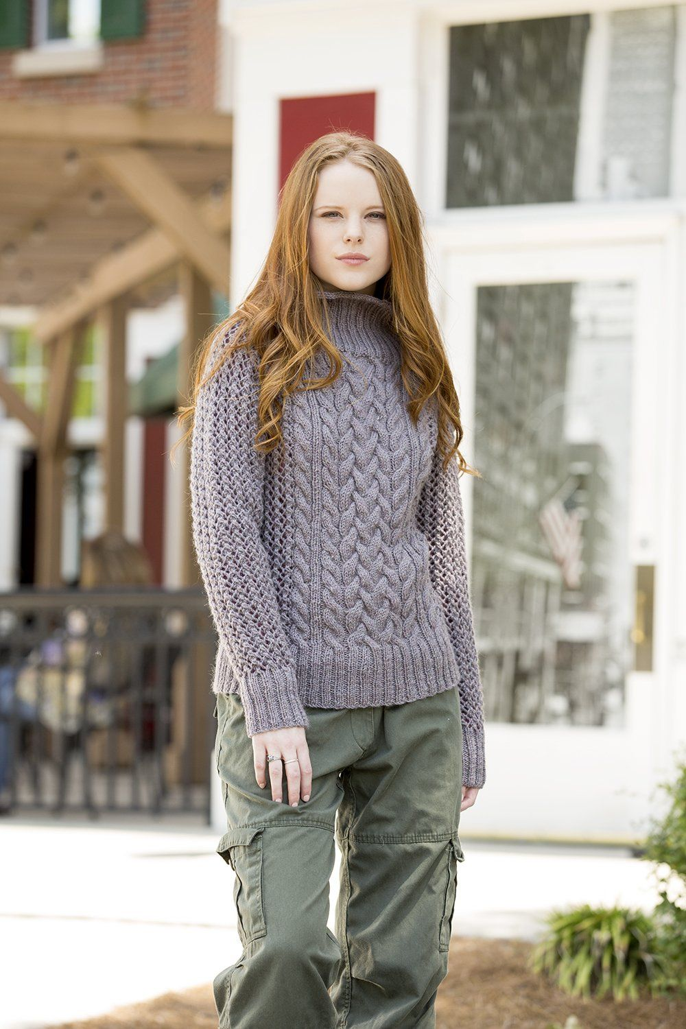 Cold Mountain Pullover Pattern Universal Yarn