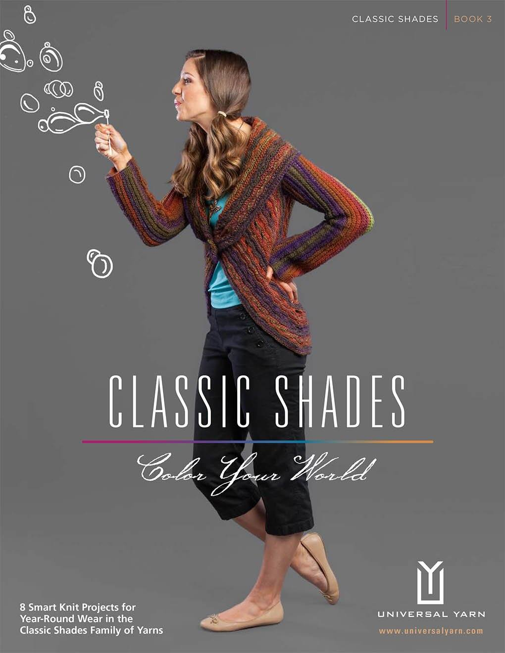 Classic Shades Book 3: Color Your world Pattern Universal Yarn