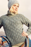 FASHION MODERN TWEED - Sweater, Tank Top, & Cardigan Pattern Rico Pattern 1059