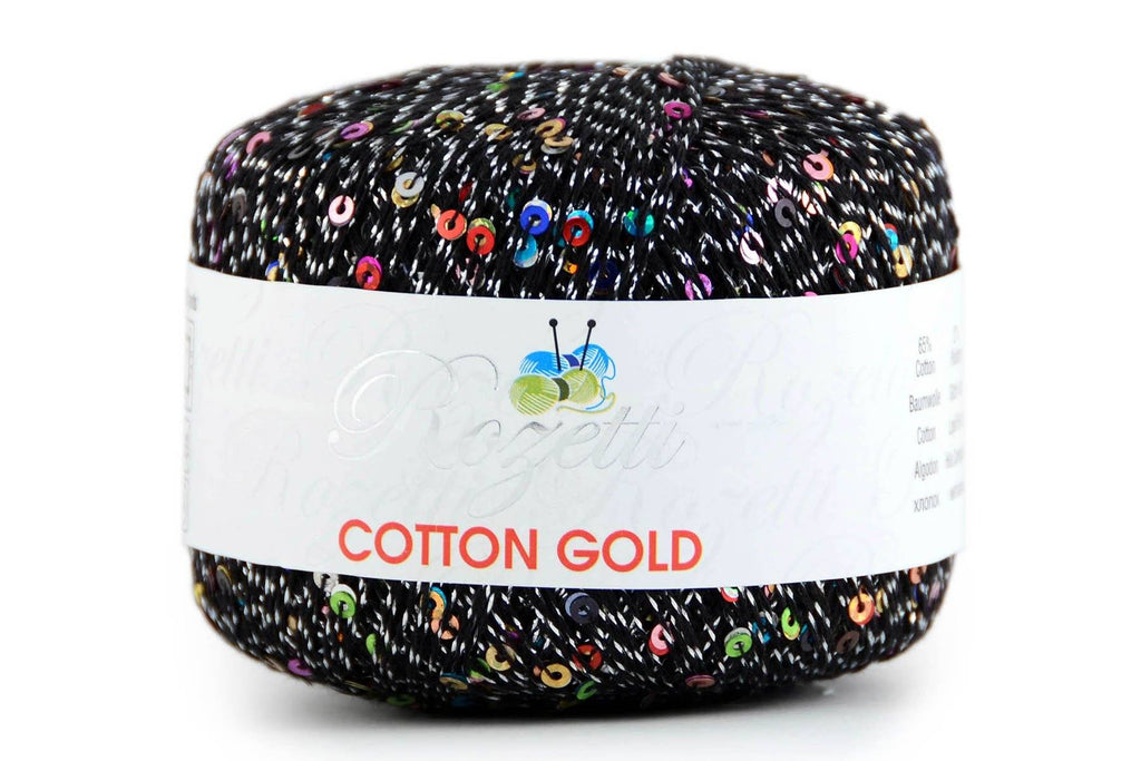 Cotton Gold Yarn Rozetti Yarns