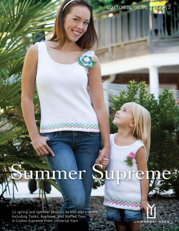 Cotton Supreme Book 2: Summer Supreme Pattern Universal Yarn