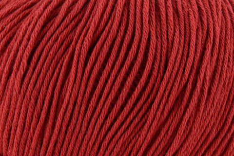 Cotton True Sport Yarn Fibra Natura 101 Port Red