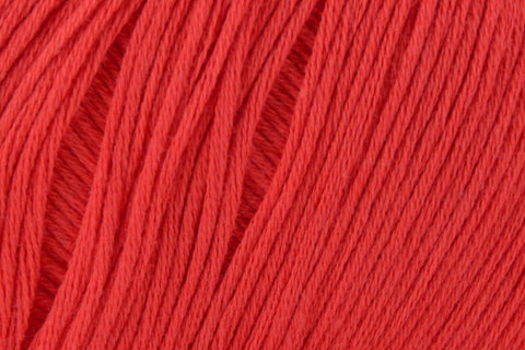 Cotton True Sport Yarn Fibra Natura 102 Bright Red