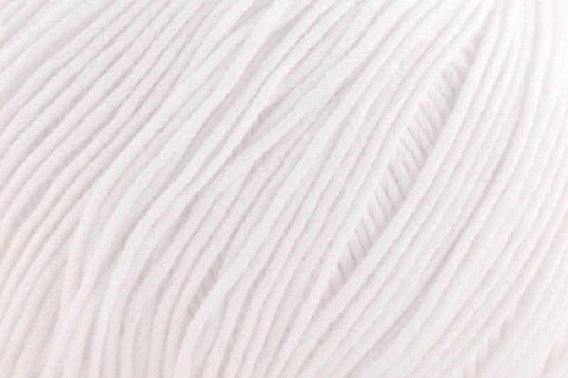 Cotton True Sport Yarn Fibra Natura 117 Bright White