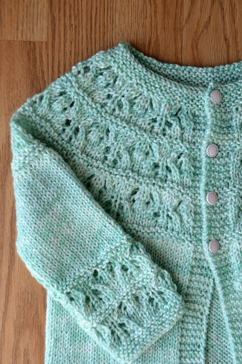 Cute as a Button Cardi Pattern Universal Yarn