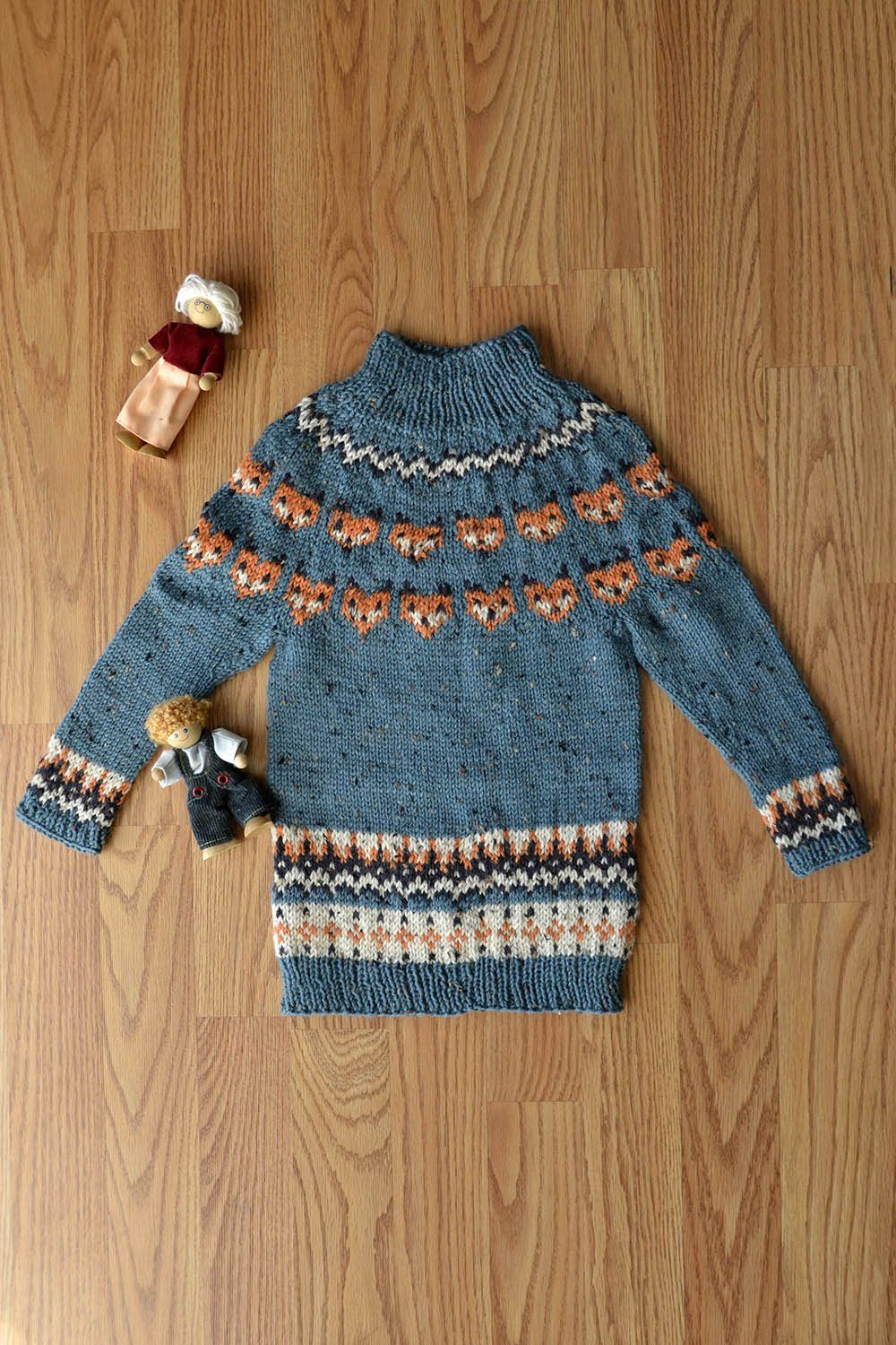 What Does The Sweater Say? Pattern Universal Yarn