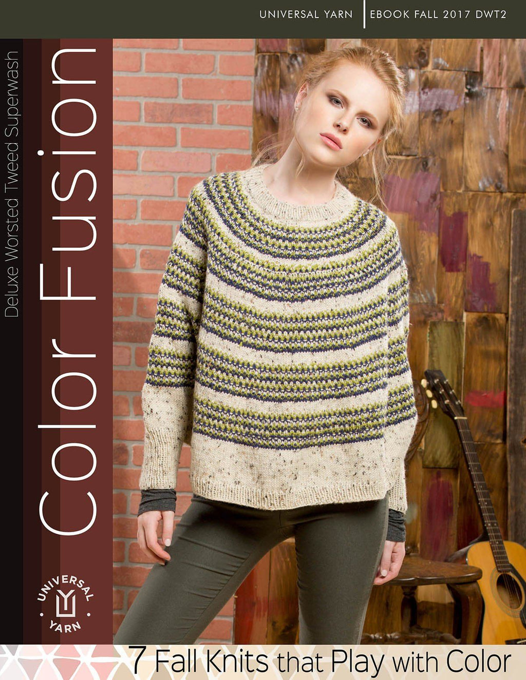 Color Fusion Pattern Universal Yarn