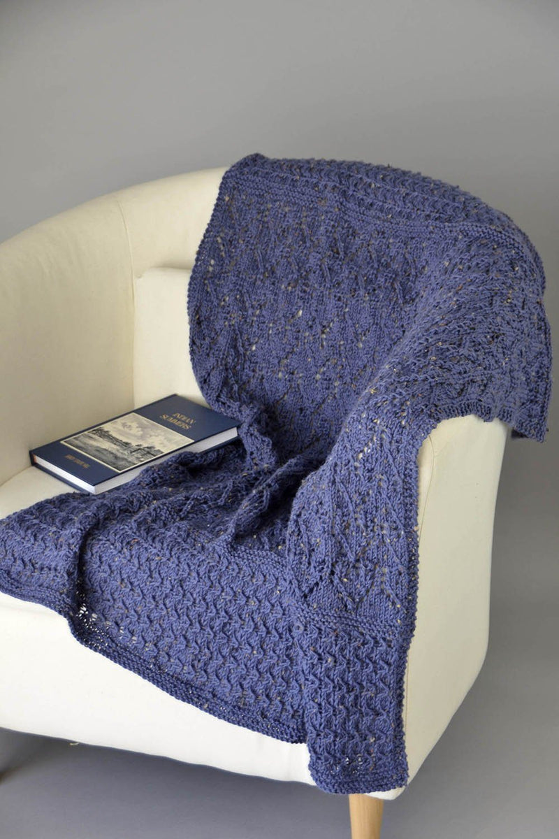 Lake Minneso Throw Pattern Universal Yarn