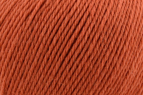 Deluxe Worsted Superwash Yarn Universal Yarn 703 Terra Cotta