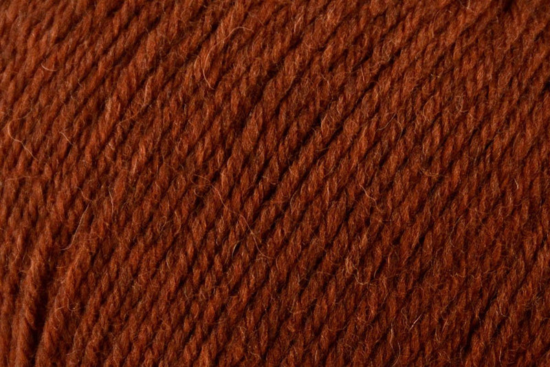 Deluxe Worsted Superwash Yarn Universal Yarn 752 Rust Heather