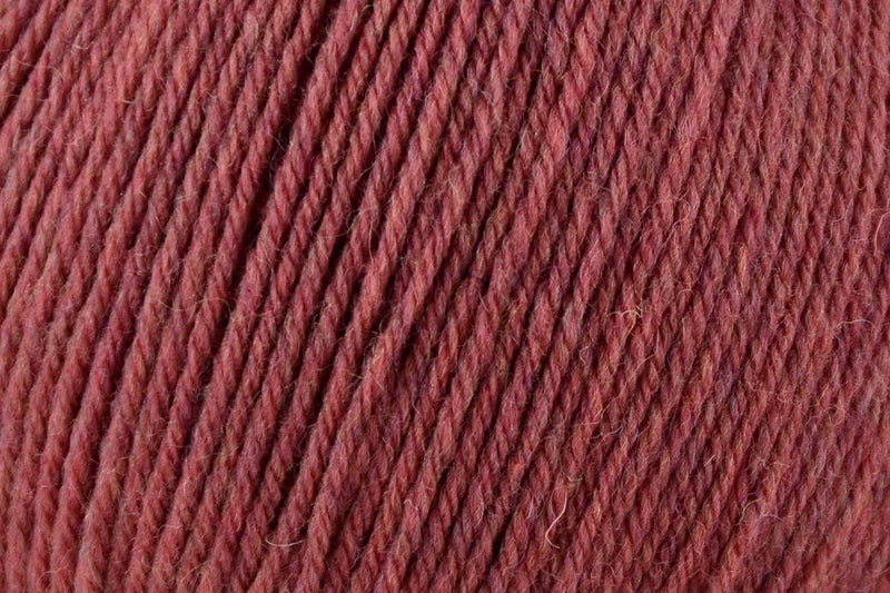 Deluxe Worsted Superwash Yarn Universal Yarn 757 Coral Heather