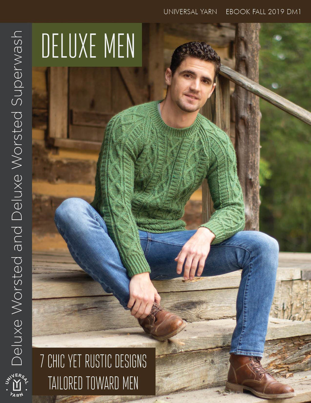 Deluxe Men Pattern Universal Yarn
