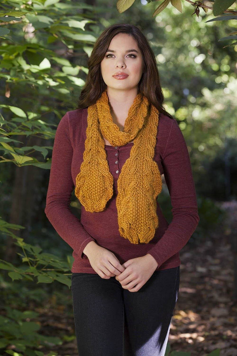 Autumn Flora with Deluxe Pattern Universal yarn