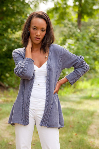 Leaf Lace Cardigan